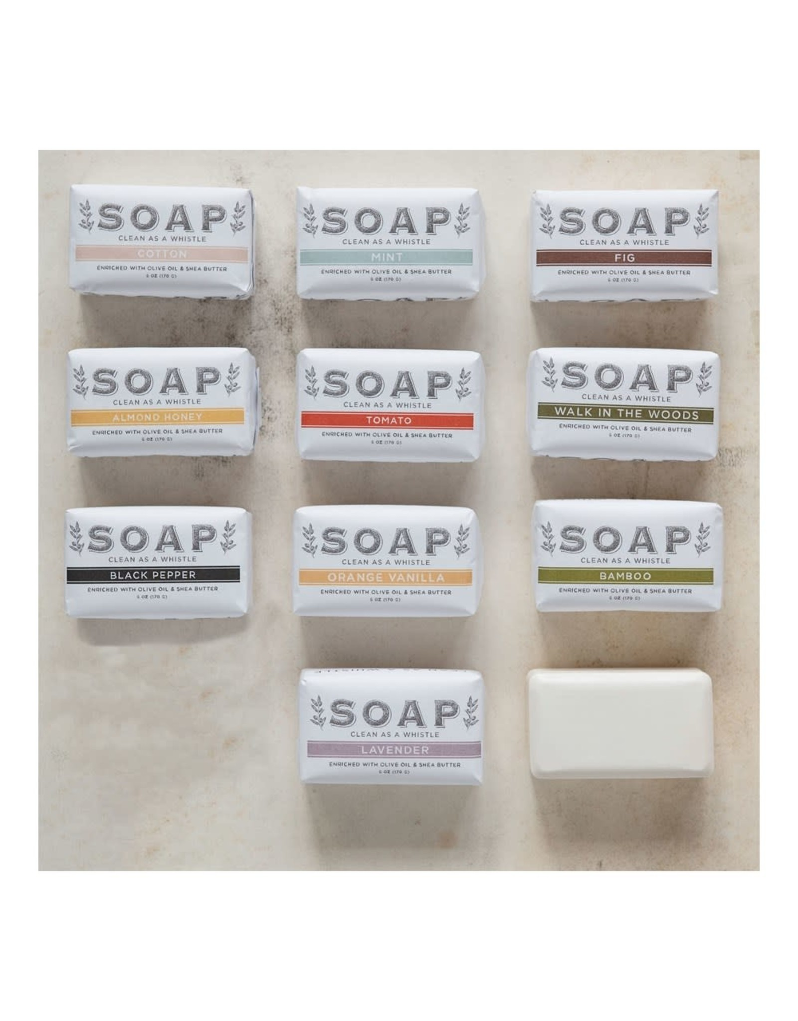 The Florist & The Merchant 6 oz Enriched Bar Soap