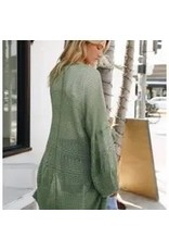 The Florist & The Merchant Knit Netted Cardigan