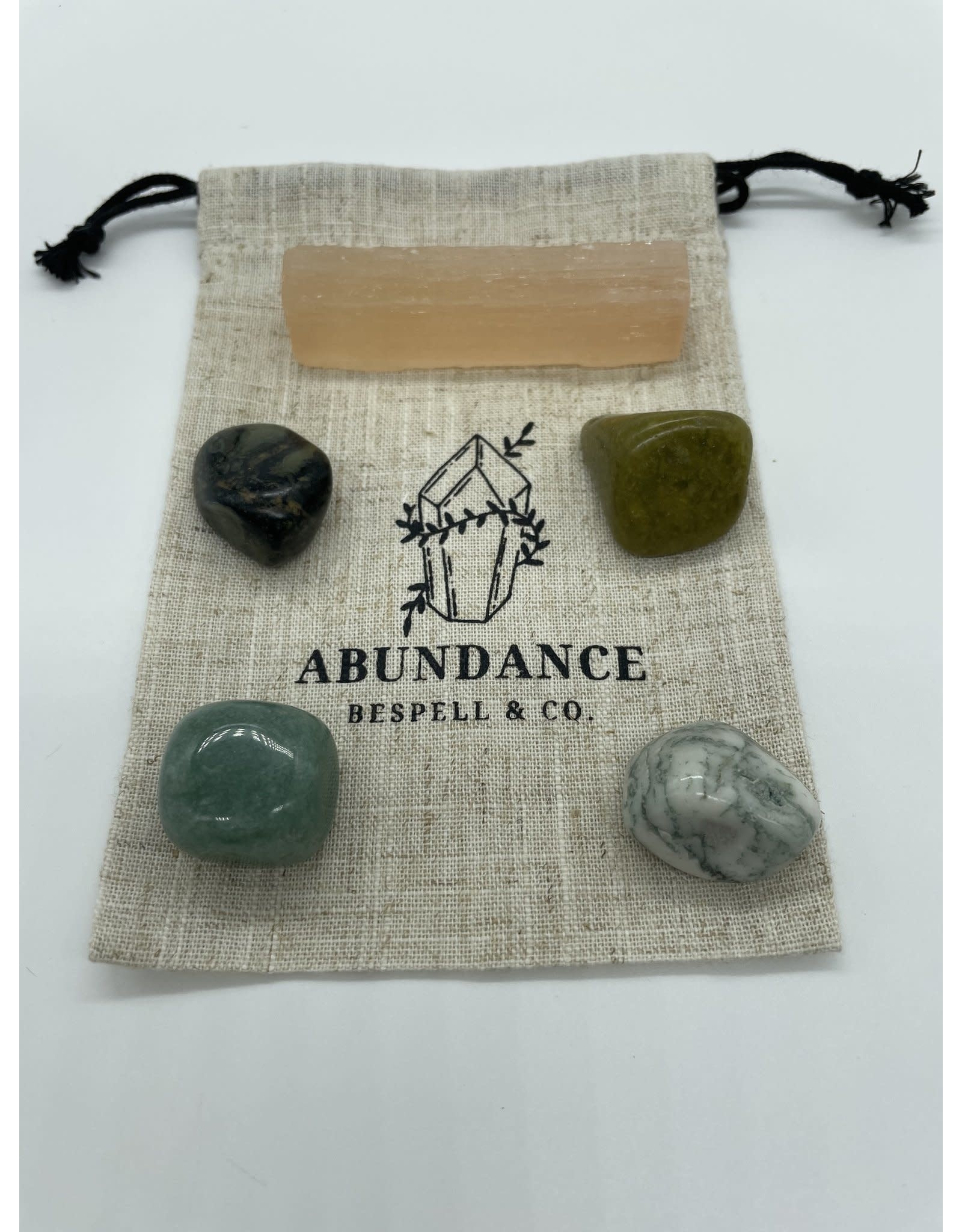 The Florist & The Merchant Abundance Crystal Kit