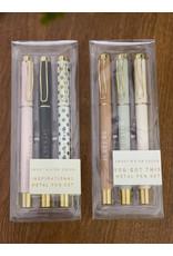 The Florist & The Merchant Metal Pen Gift Set