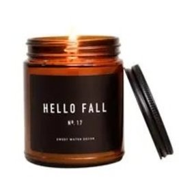 The Florist & The Merchant Hello Fall Candle