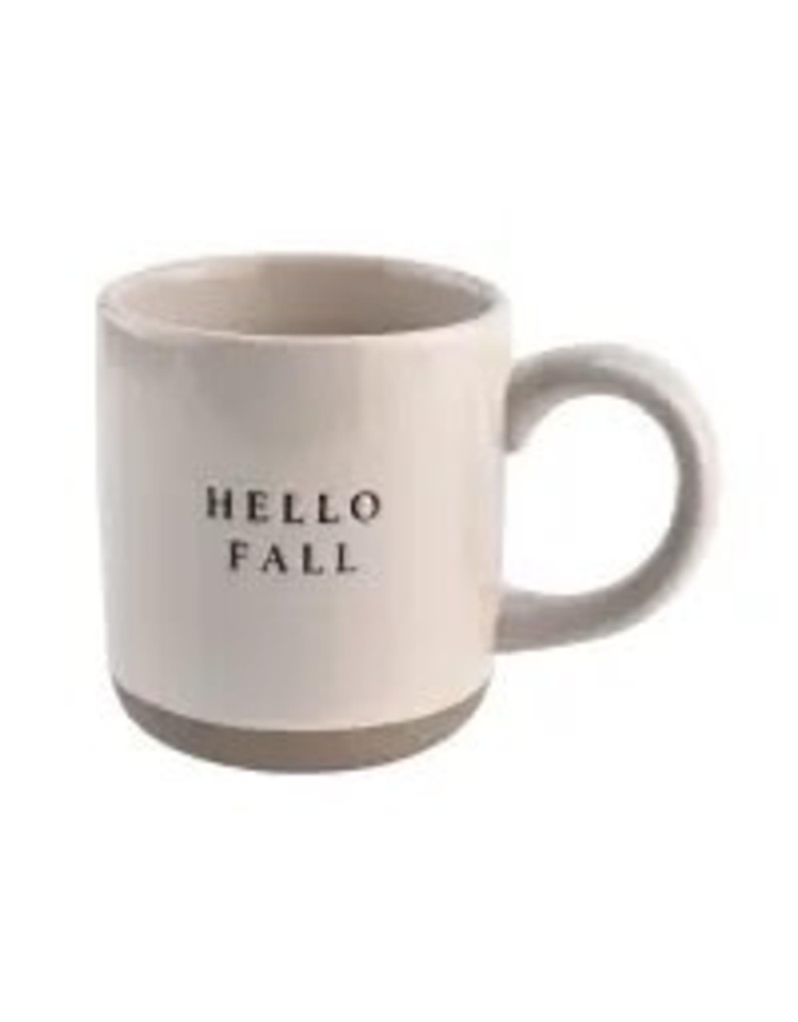 The Florist & The Merchant Stoneware Coffee Mug