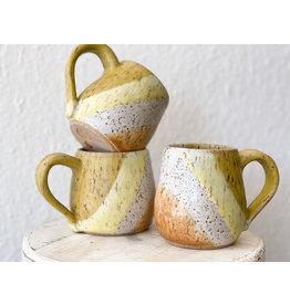 The Florist & The Merchant Speckled Sunshine Hand Thrown Mug