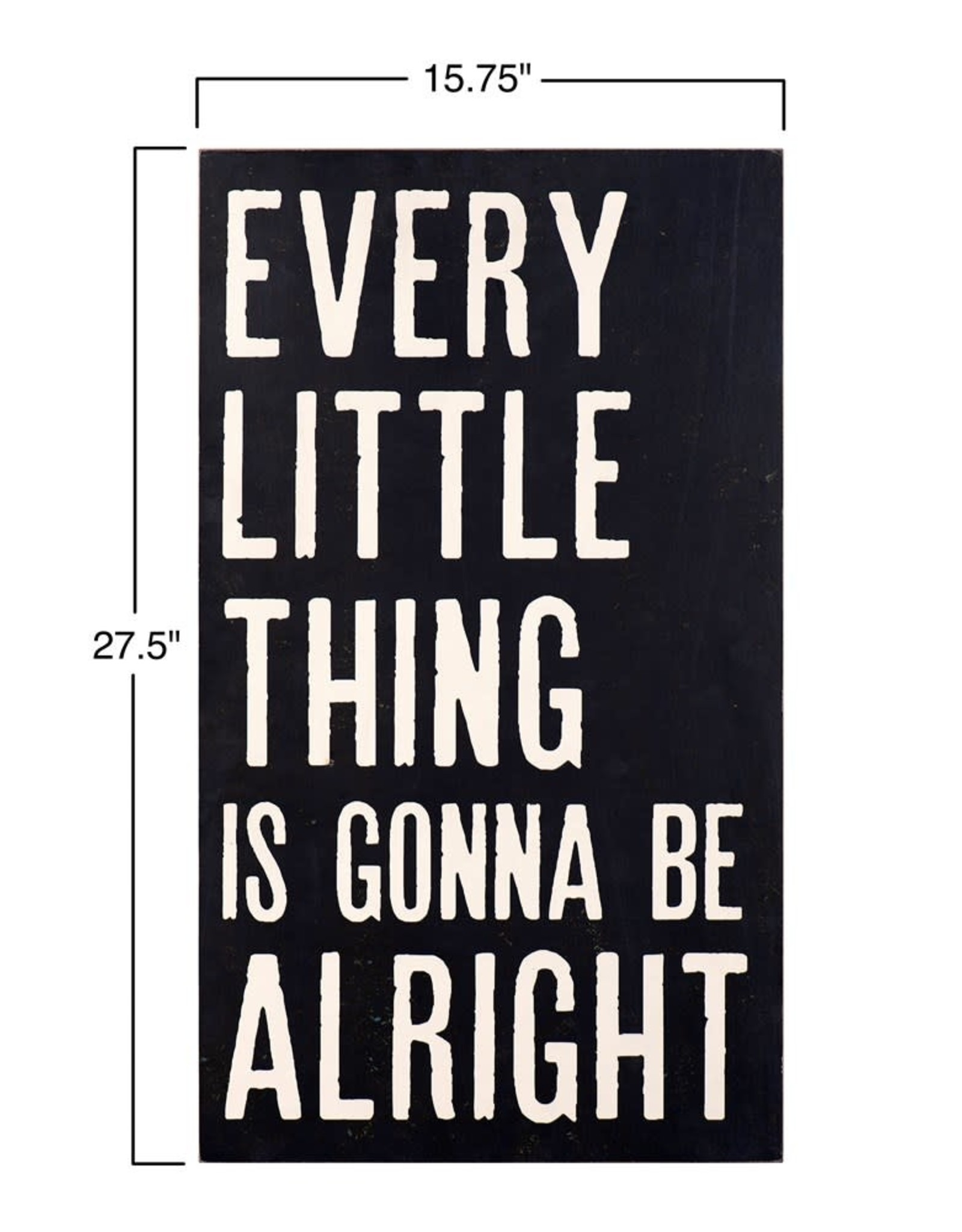 """The Florist & The Merchant 27.5"""" Every Little Thing...Wall Decor"""