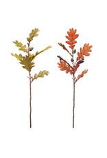 """The Florist & The Merchant 20"""" Faux Oak Leaf Pick w/ Acorns"""