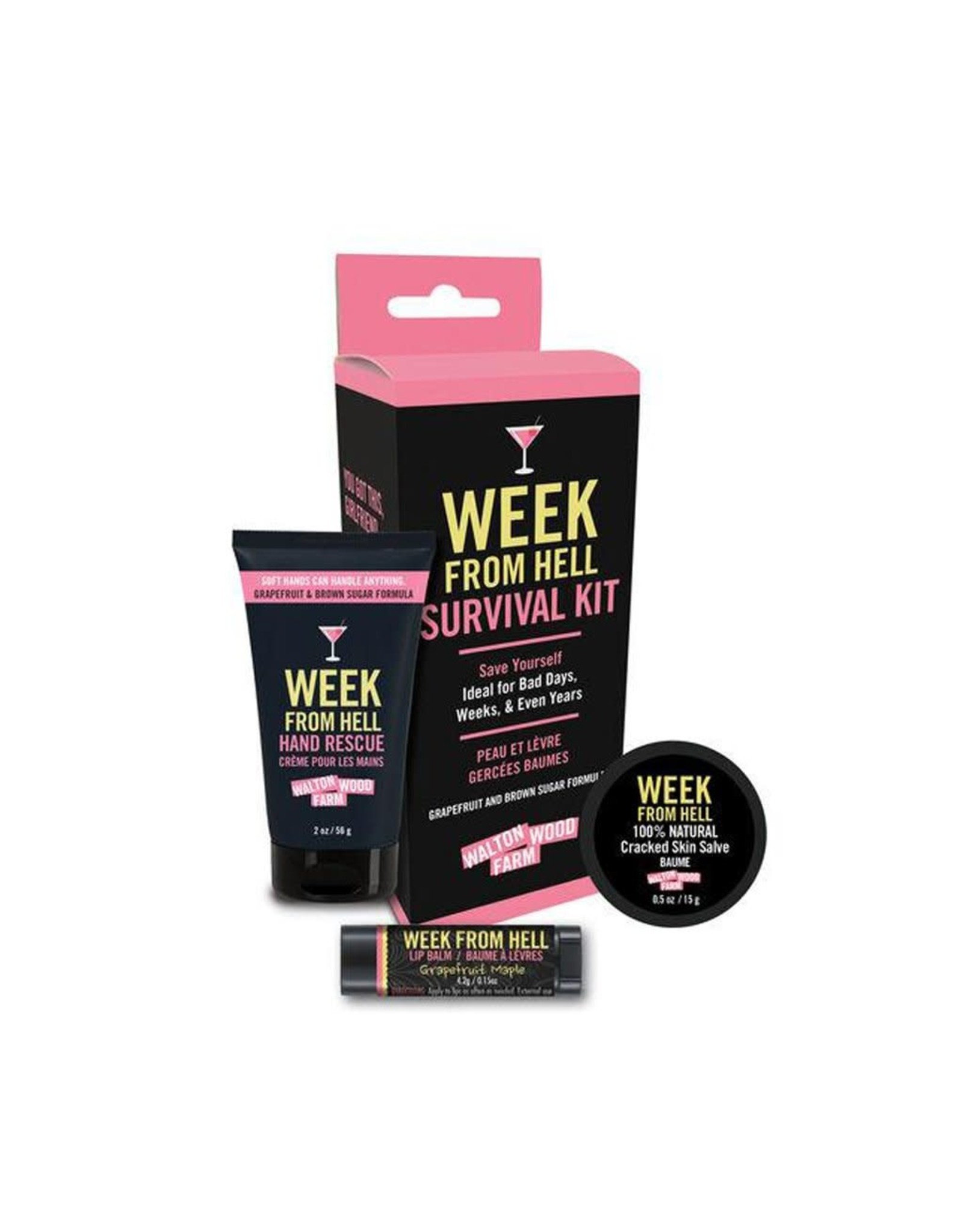 The Florist & The Merchant 3 Piece Survival Kit- Week From Hell