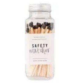 The Florist & The Merchant Glass Jar Safety Matches