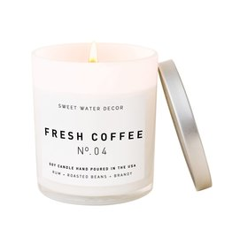 The Florist & The Merchant 7.5 oz Fresh Coffee Candle