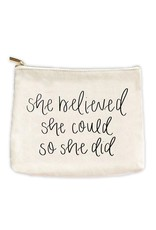 The Florist & The Merchant She Believed She Could Makeup Bag
