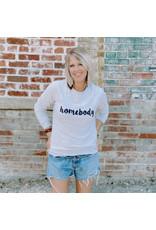 The Florist & The Merchant Homebody Sweatshirt - Lt Grey - X Small