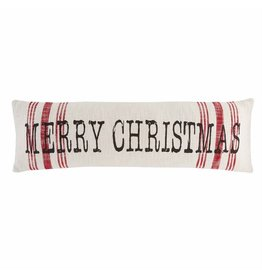 The Florist & The Merchant Merry Christmas Long Pillow