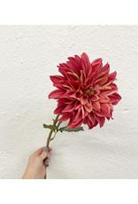 Deep Pink Large Floral Stem
