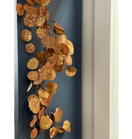 "The Florist & The Merchant 68"" Metallic Leaf Garland"