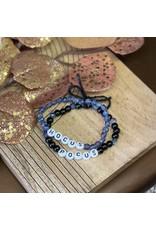 The Florist & The Merchant Women's Beaded Bracelets, Set of 2