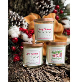 The Florist & The Merchant 9 oz  Soy Candle - Christmas Vacation