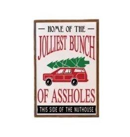 """The Florist & The Merchant 12"""" x 18"""" Jolliest Bunch Sign"""