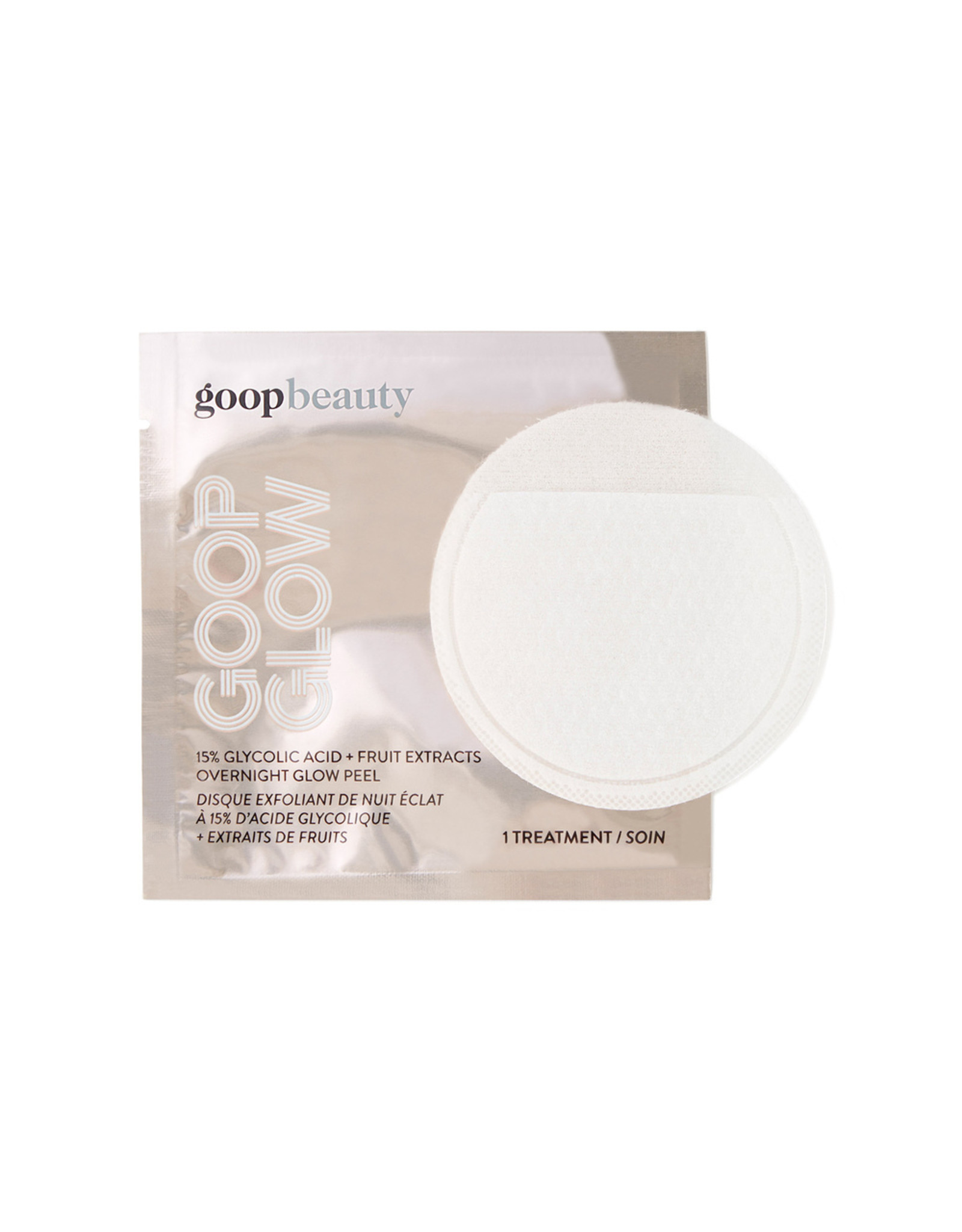 Goop goop Beauty GOOPGLOW 15% Glycolic Overnight Glow Peel (Size: 4-Pack)