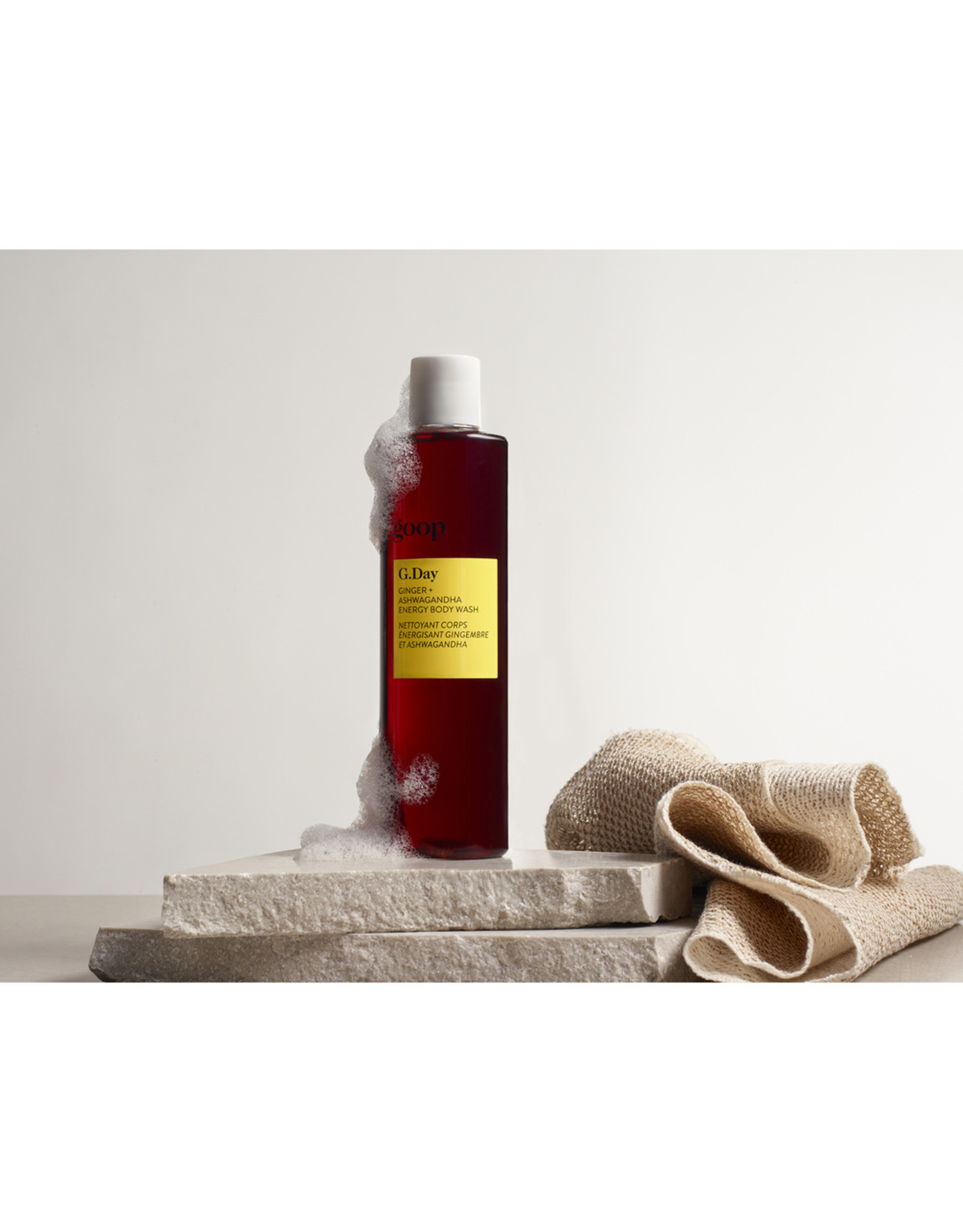 goop Body goop Beauty G.DAY Ginger + Ashwagandha Energy Body Wash