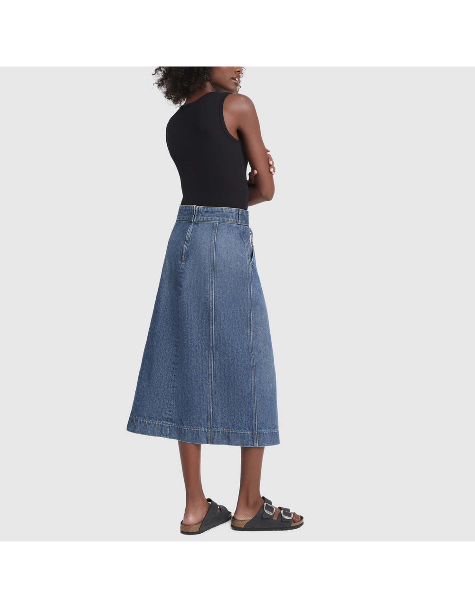 G. Label G. Label Amanda Bodysuit Tall (Color: Black, Size: S)