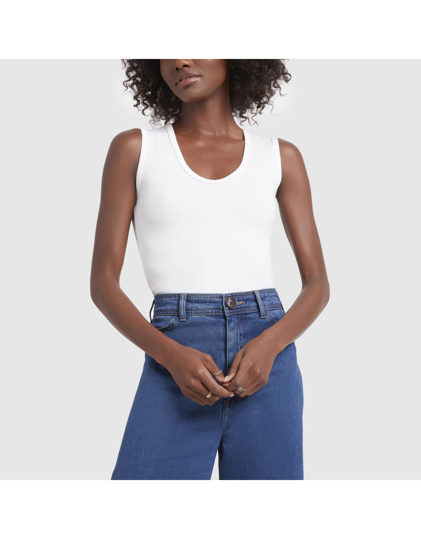 G. Label G. Label Amanda Bodysuit Tall (Color: White, Size: M)
