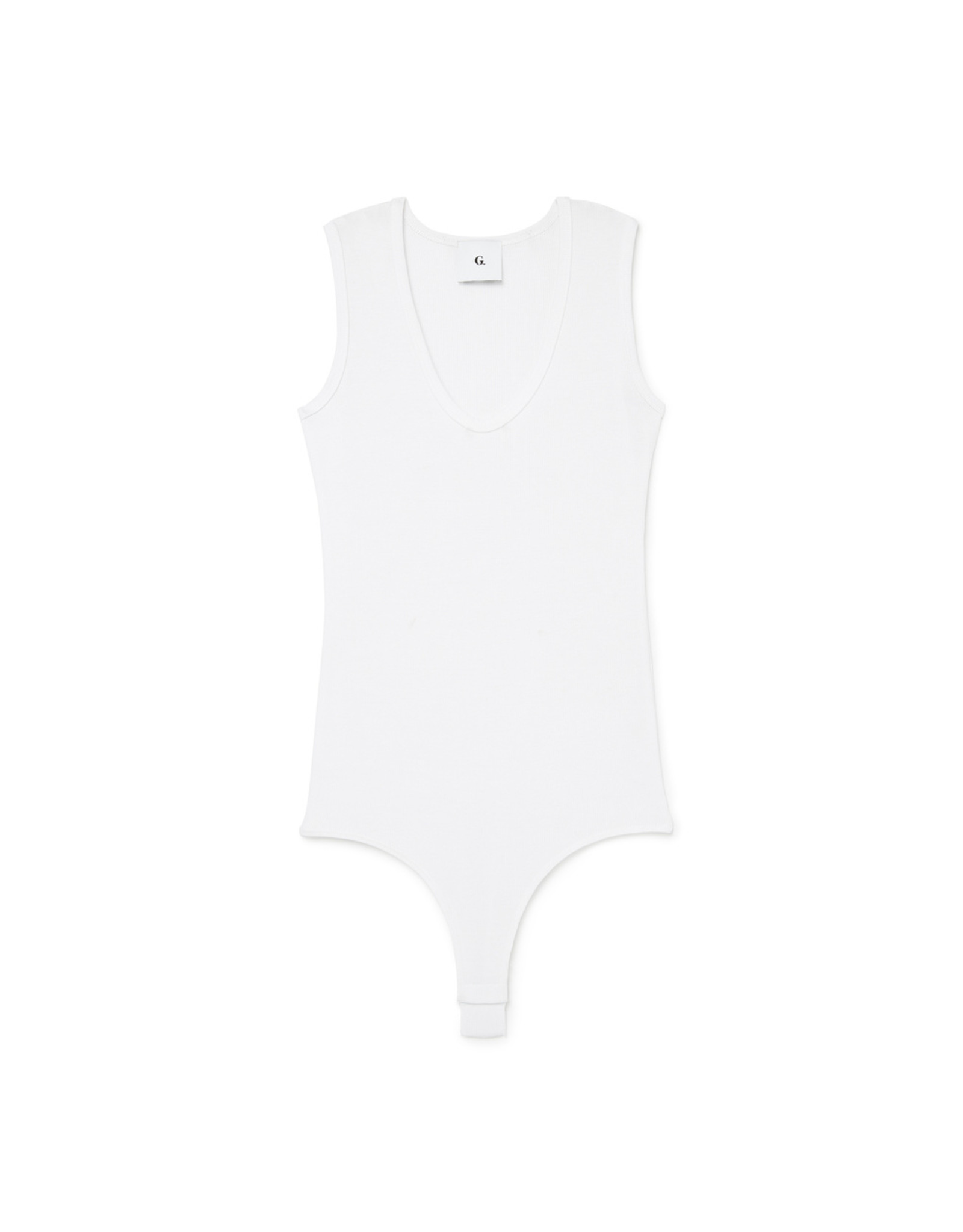 G. Label G. Label Amanda Bodysuit Reg (Color: White, Size: M)