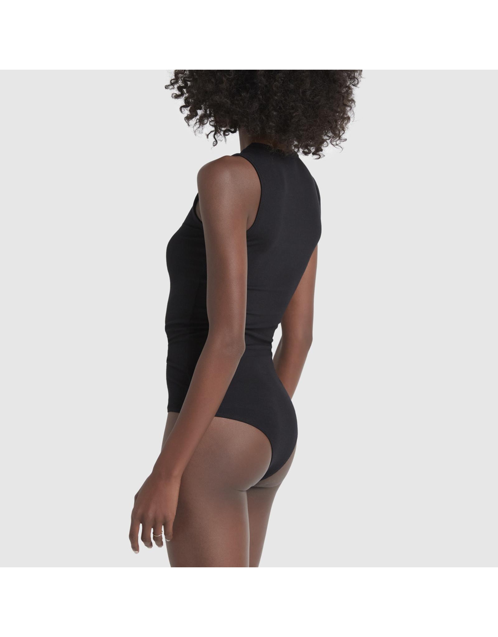 G. Label G. Label Amanda Bodysuit Reg (Color: Black, Size: L)