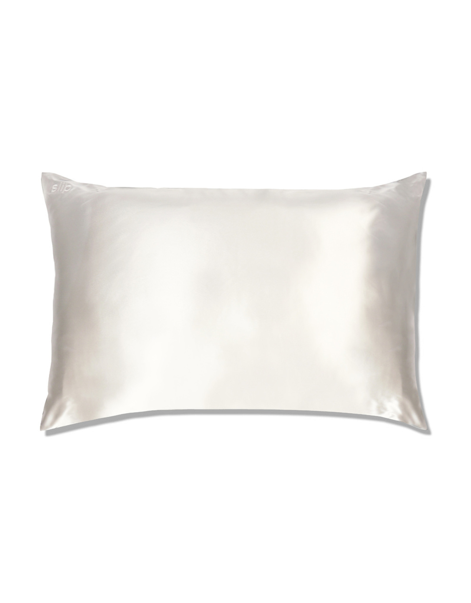 Slip Slip White Queen Pillow Case