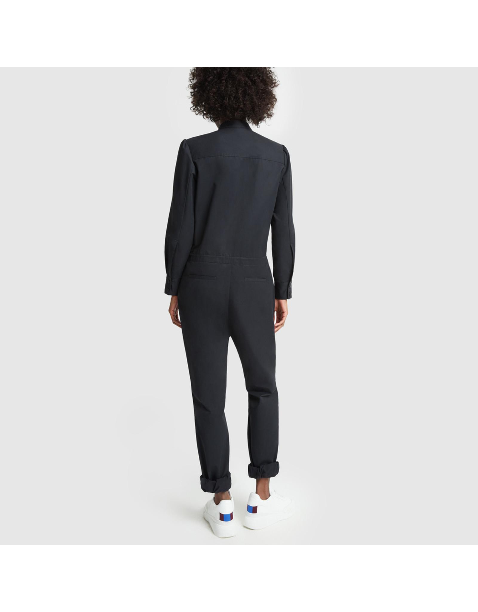 G. Label G. Label Terry Slim Jumpsuit (Size: 0, Color: Navy)