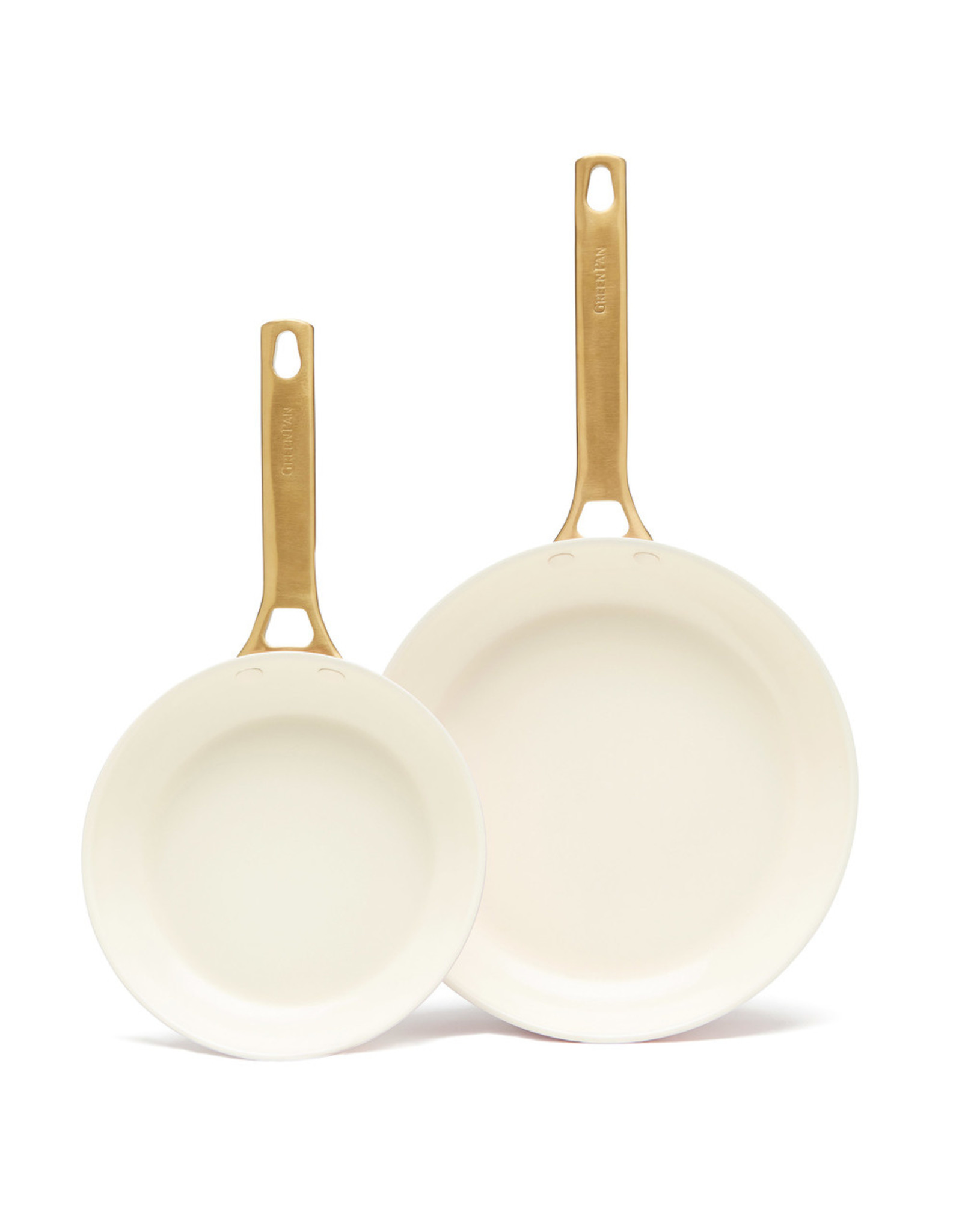"goop x Greenpan goop x Greenpan goop Exclusive 8"" & 10"" Blush Frypan Set (Color: Blush)"