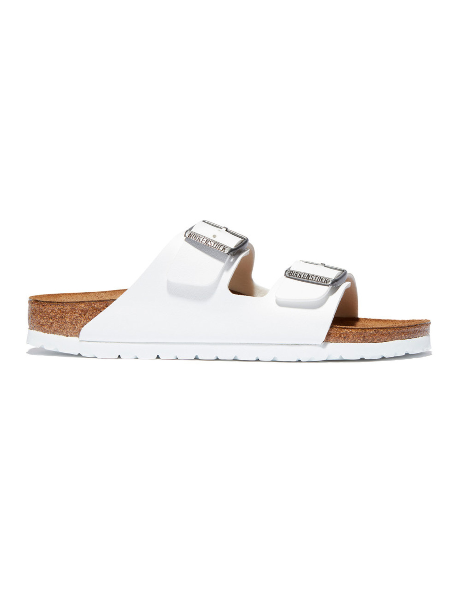 Birkenstock Arizona Birkenstock (Color: White / Birko-Flor, Size: IT39)