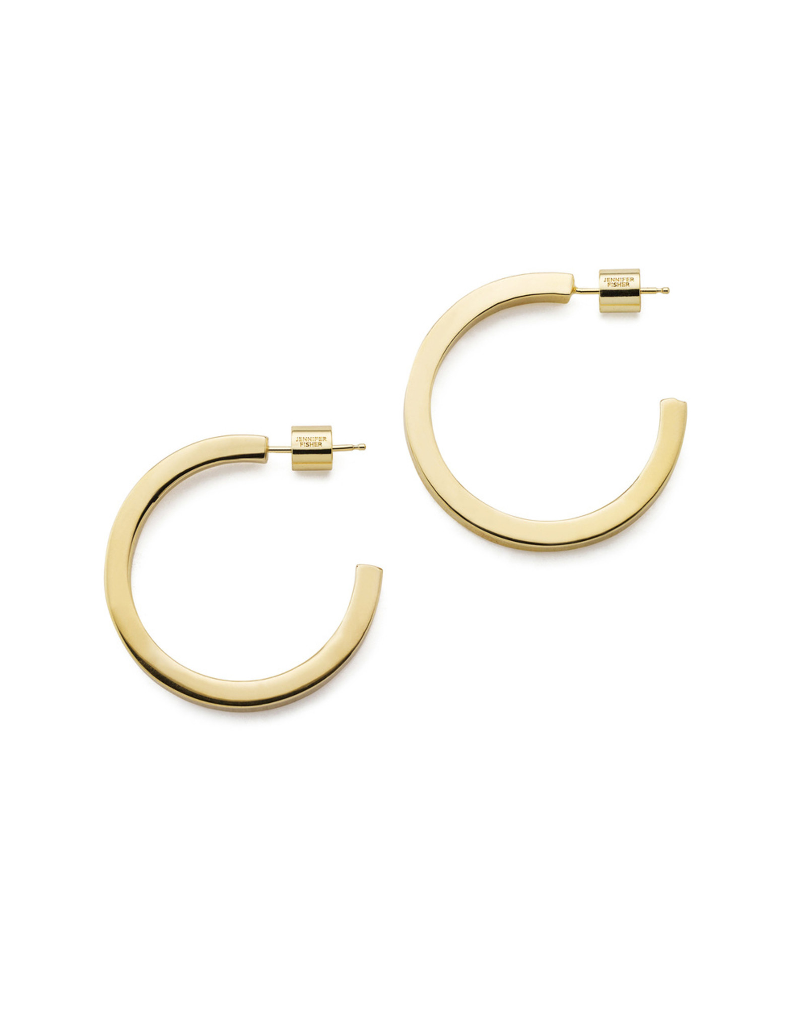 Jennifer Fisher Jennifer Fisher Gwyneth Hoops (Color: Yellow Gold)