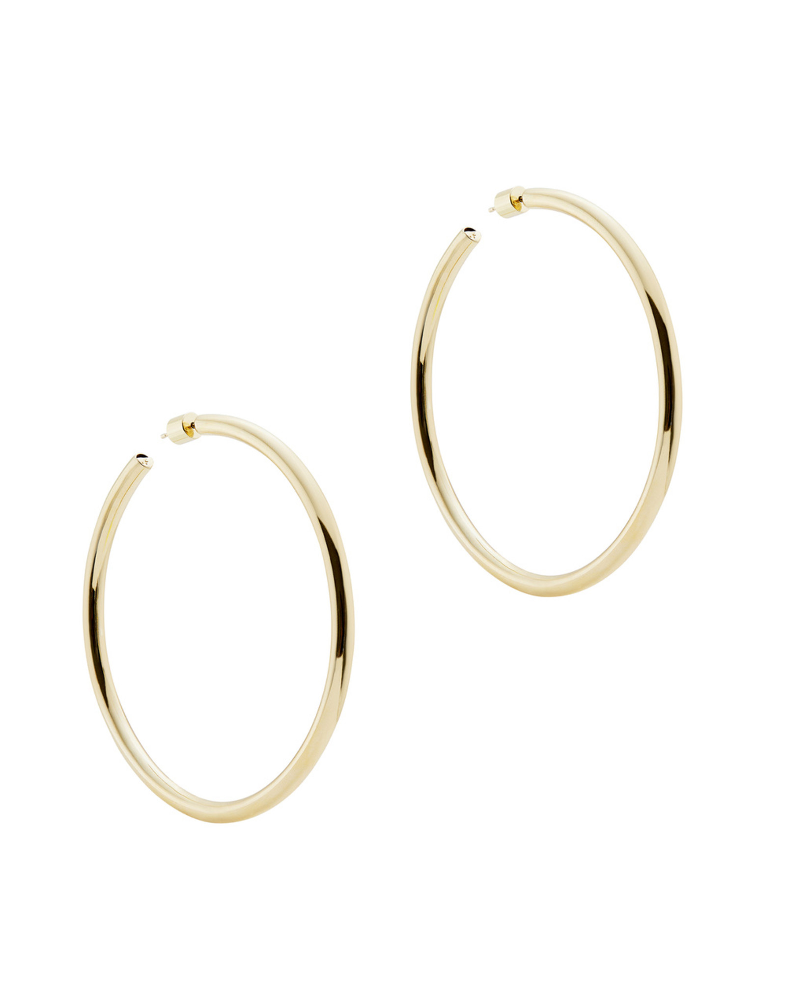 "Jennifer Fisher Jennifer Fisher 2.5"" Goop Hoops (Color: Yellow Gold)"