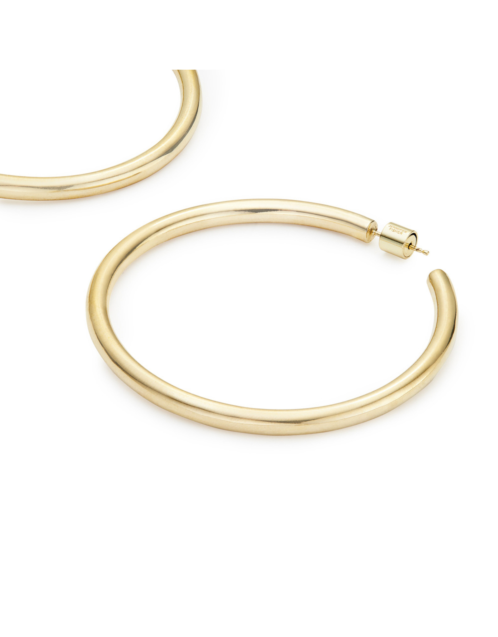 "Jennifer Fisher Jennifer Fisher 2"" Goop Hoops (Color: Yellow Gold)"
