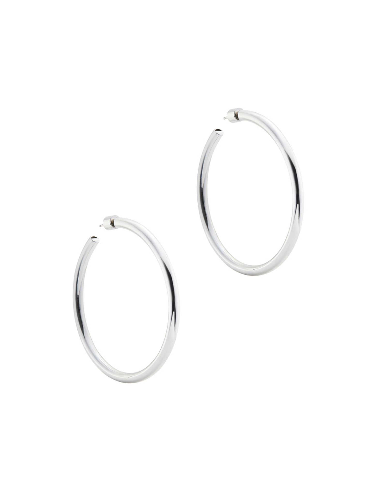 "Jennifer Fisher Jennifer Fisher 2"" Goop Hoops (Color: Sterling Silver)"