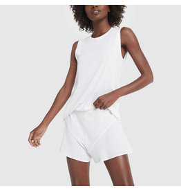 G. Sport G. Sport Relaxed-Fit Muscle Tank (Color: White, Size: L)
