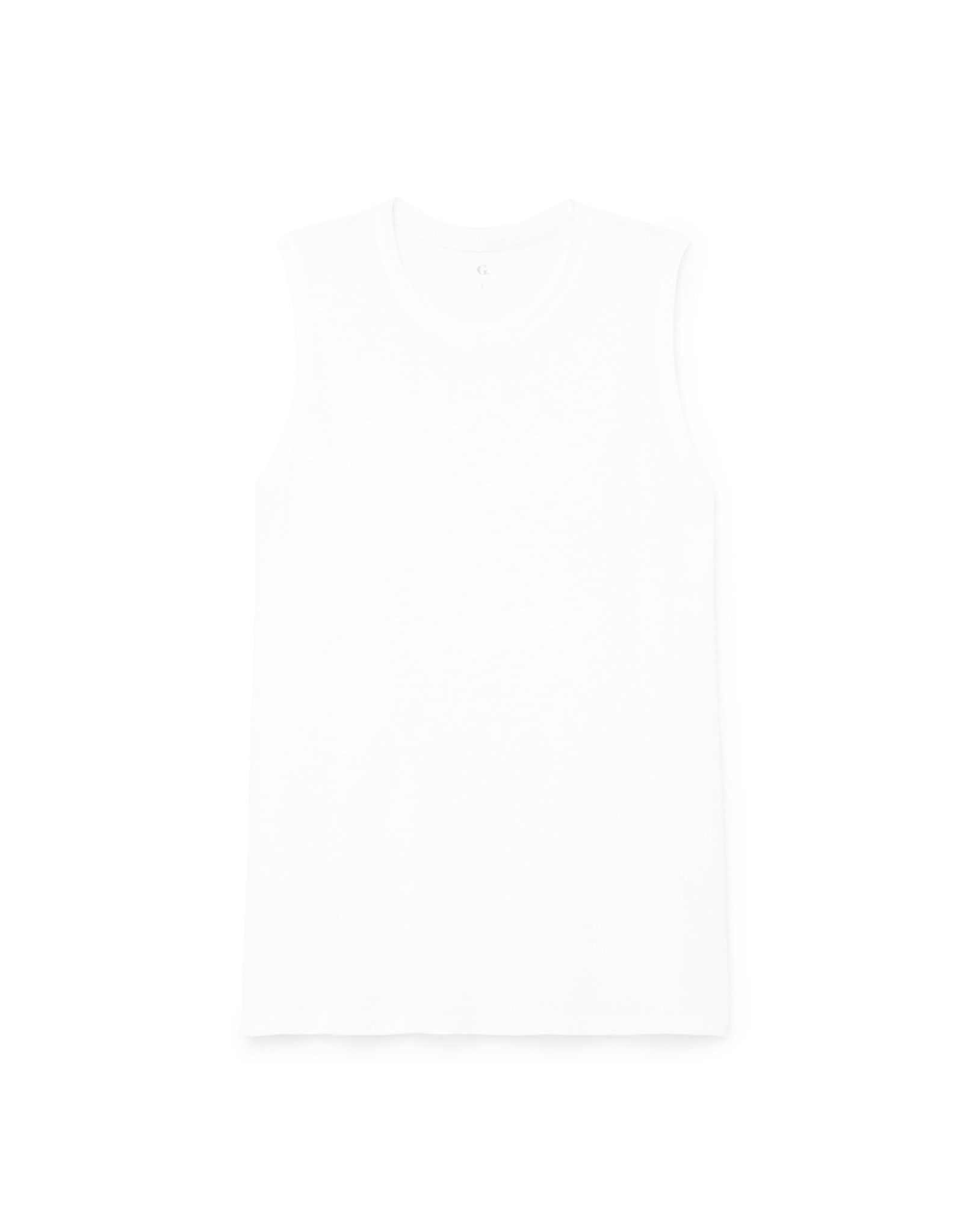 G. Sport G. Sport Relaxed-Fit Muscle Tank (Color: White, Size: XL)