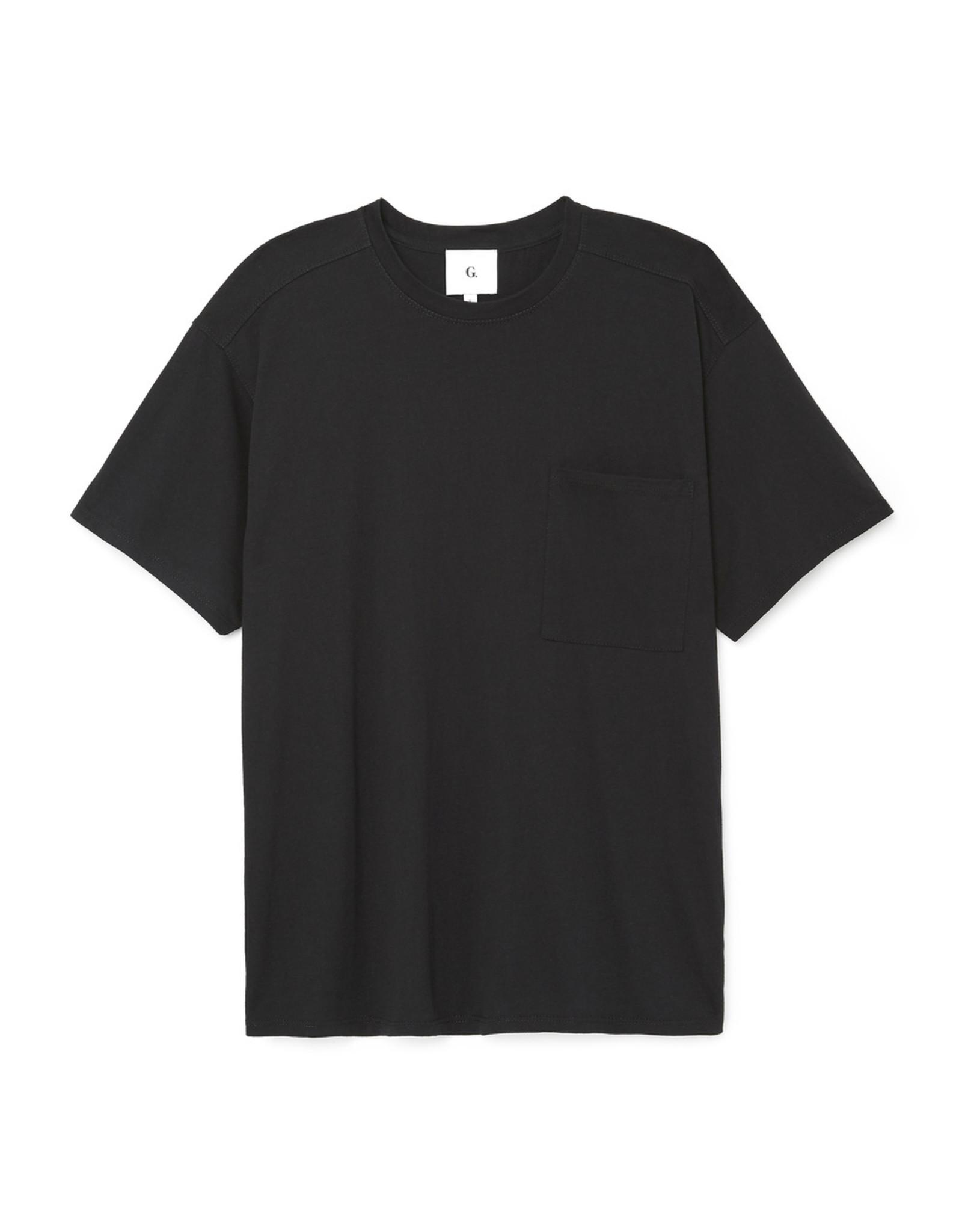 G. Sport G. Sport Oversize Boyfriend Tee (Color: Black, Size: L)