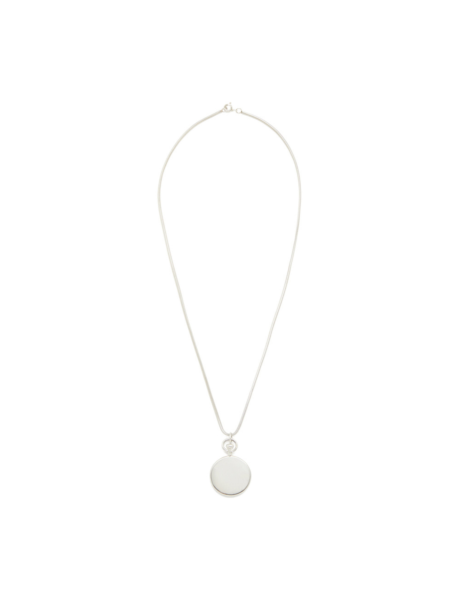 Sophie Buhai Sophie Buhai Small Circle Sterling-Silver Pendant (Color: Sterling Silver)