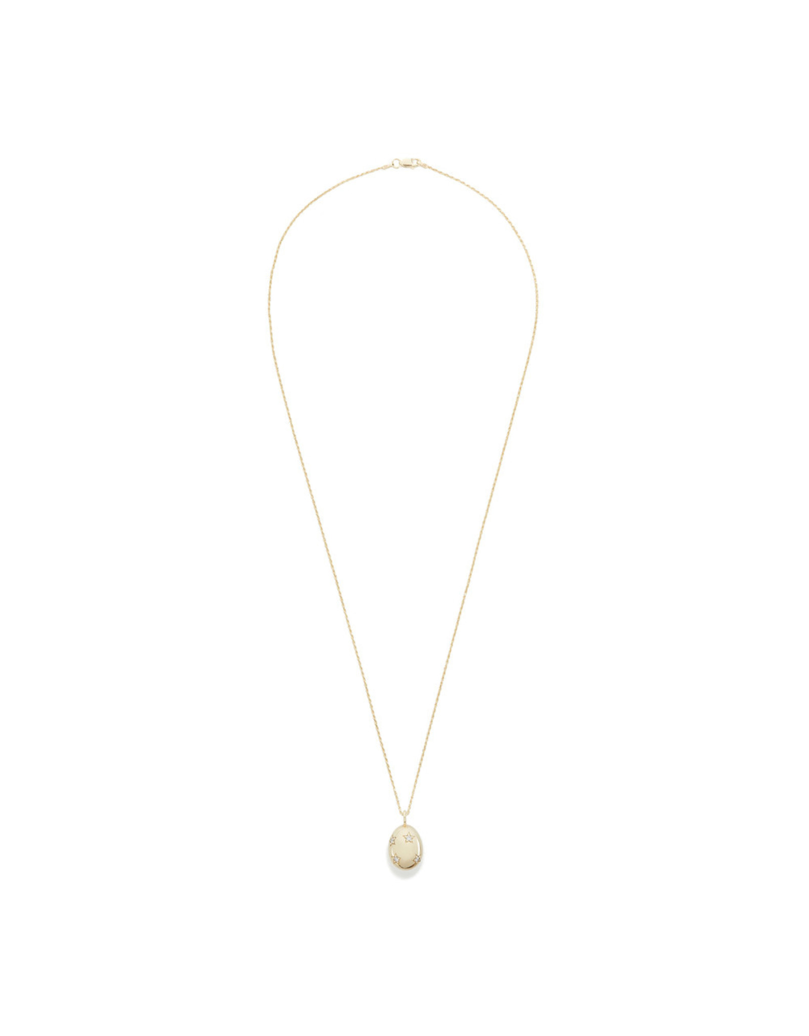 Ariel Gordon Ariel Gordon Golden Goose Pavé Pendant (Color: Yellow Gold)