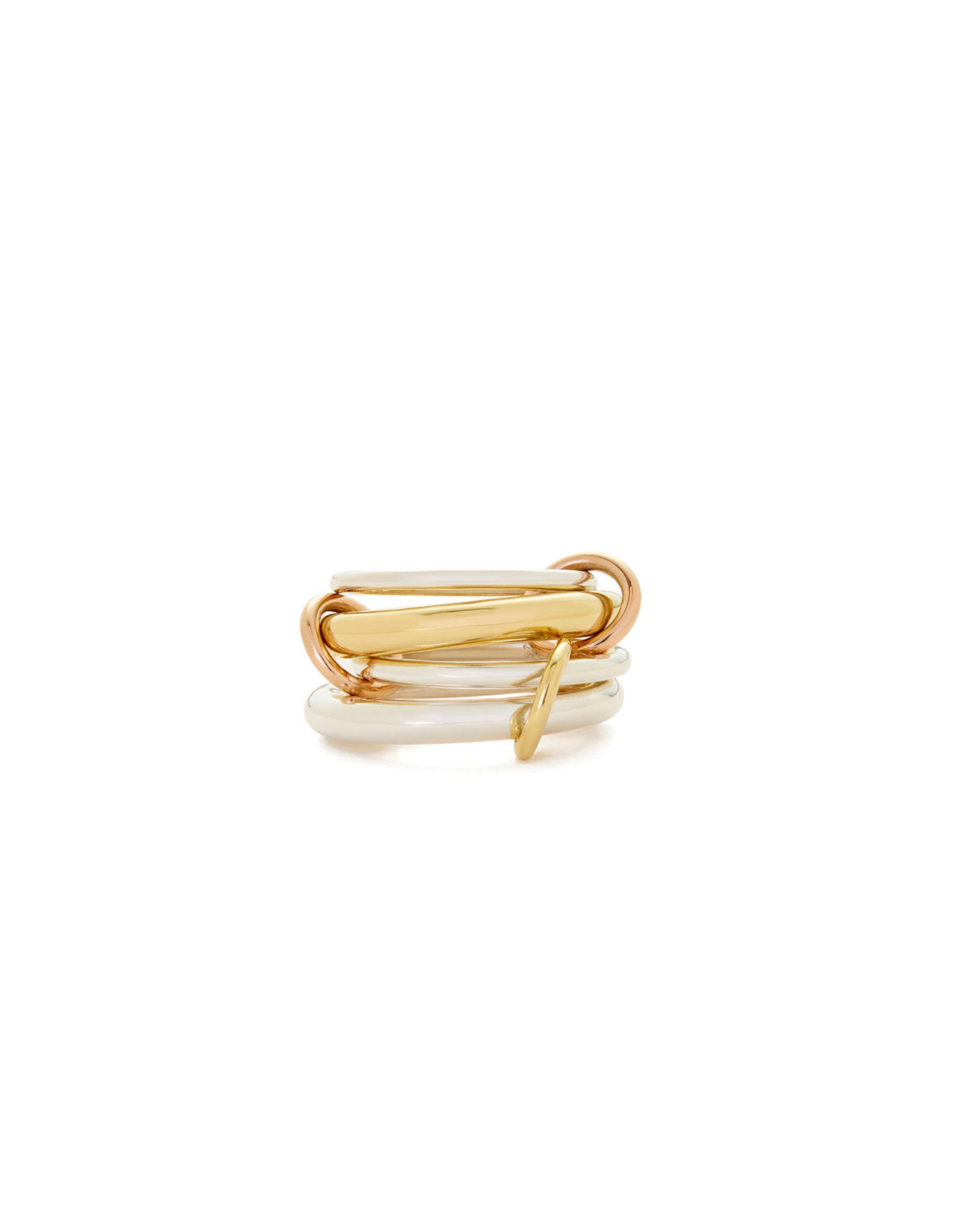 Spinelli Kilcollin Spinelli Kilcollin Cici Ring (Color: Yellow Gold / Rose Gold, Size: 6.5)