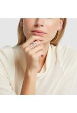 Sara Weinstock Sara Weinstock Reverie Open Ring - White Gold (Size: 7)