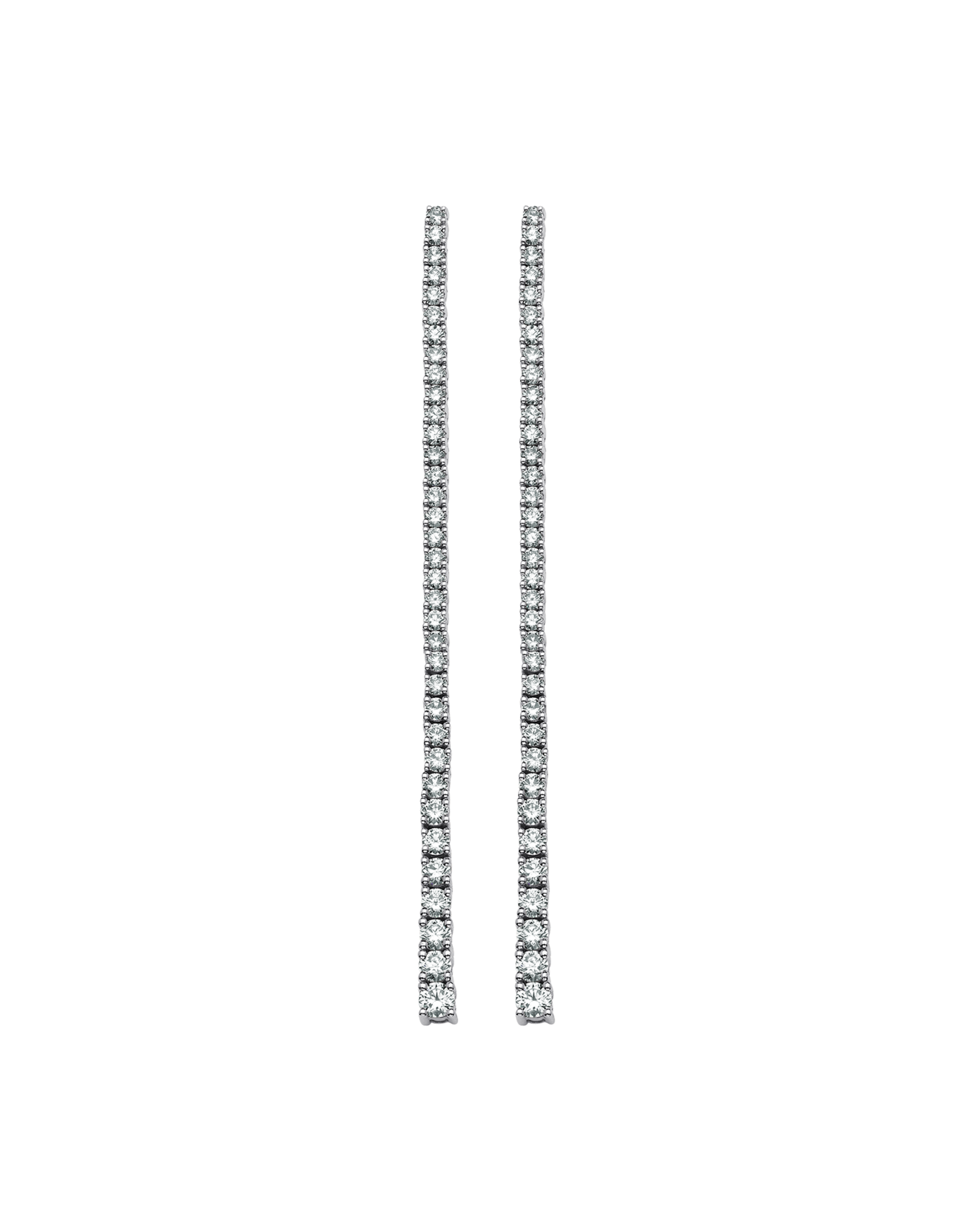 Sara Weinstock Sara Weinstock Isadora Eternity Petite Drop Earrings - White Gold