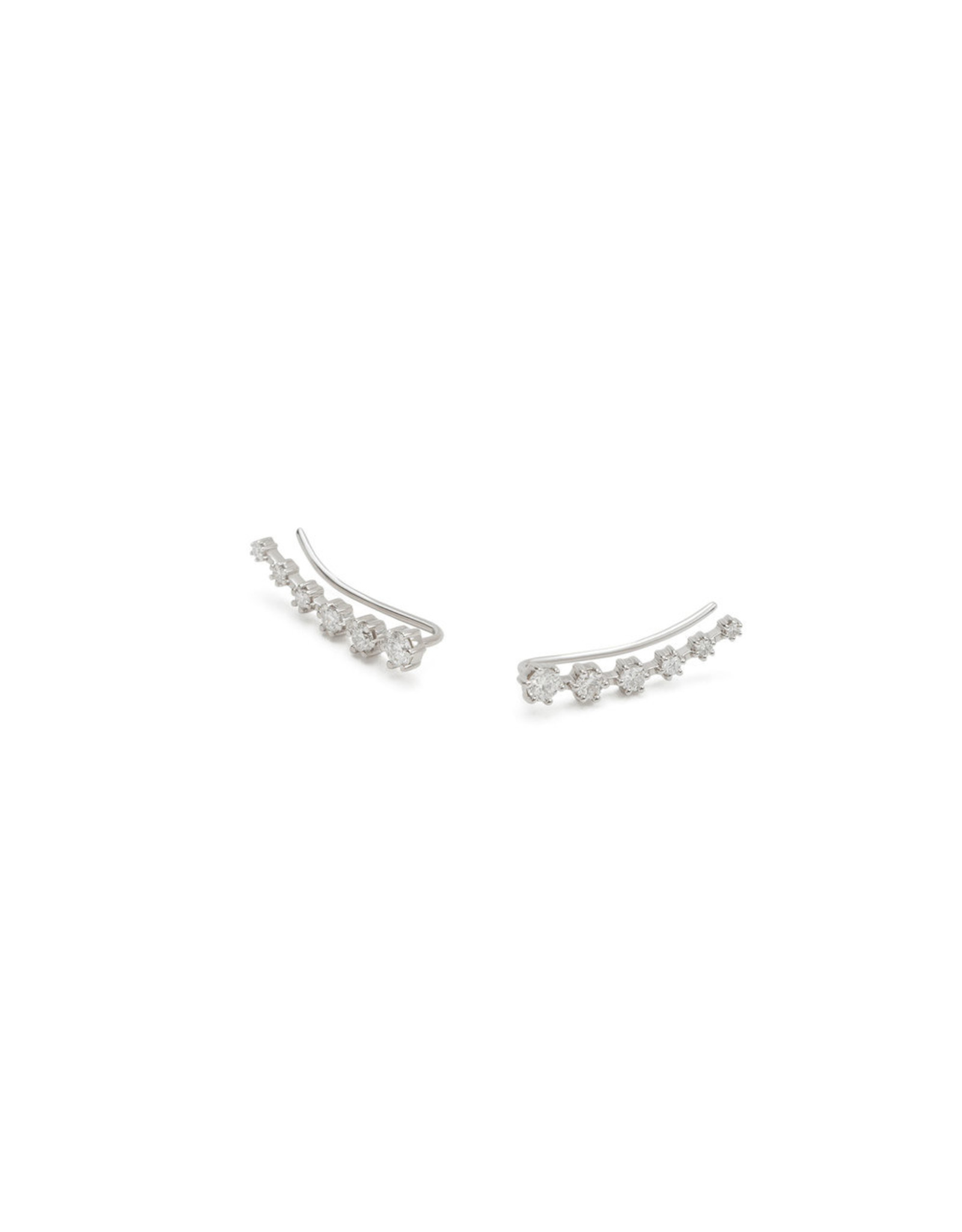 Sara Weinstock Sara Weinstock 6 Prong Ear Wire - Left - White Gold