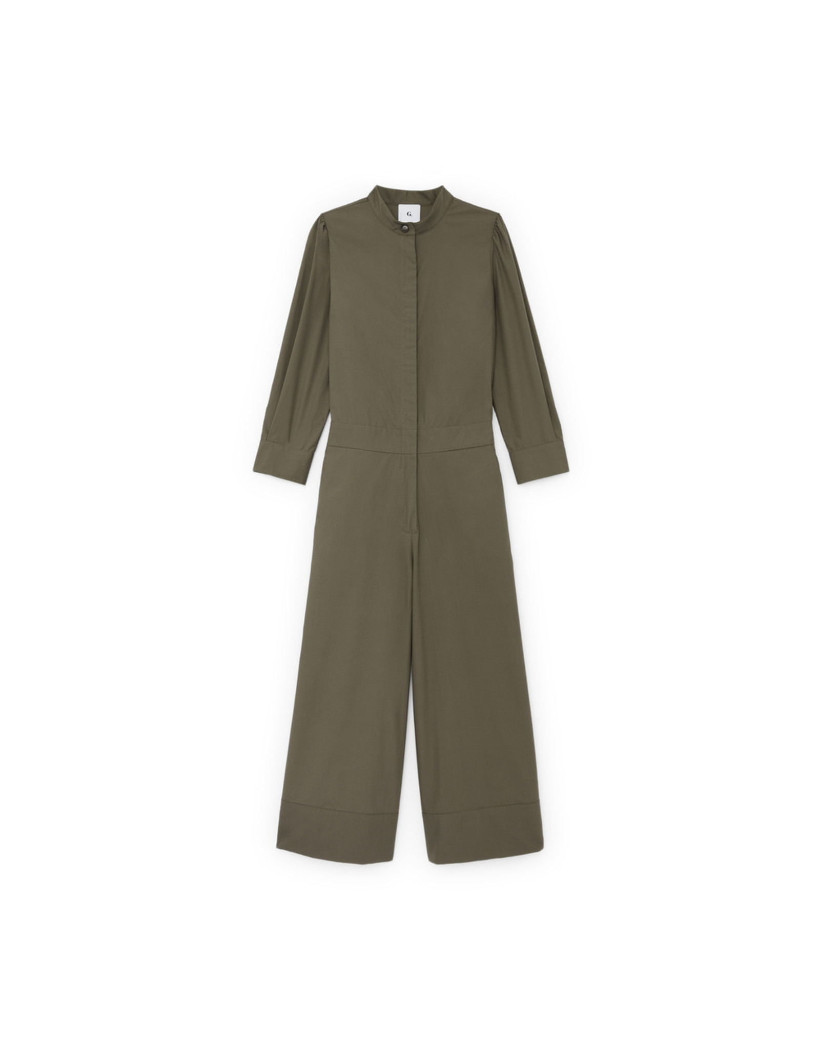 G. Label G. Label Blair Jumpsuit (Color: Army Green, Size: 0)
