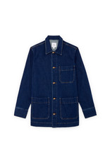 G. Label G. Label Sandra Utility Jacket (Color: Medium Blue Wash, Size: M)
