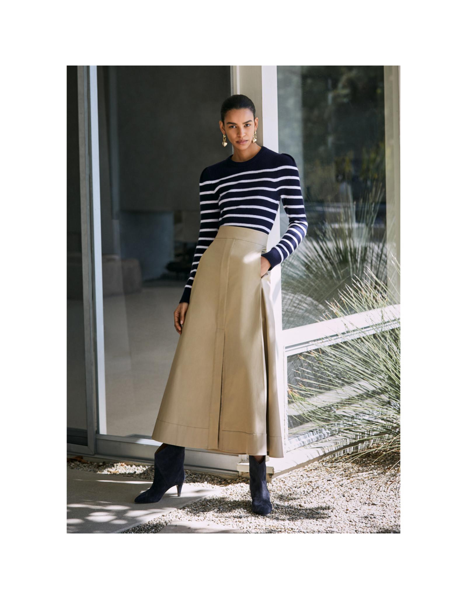 G. Label G. Label Diandra Maxi Skirt (Size: 6, Color: Khaki)