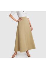 G. Label G. Label Diandra Maxi Skirt (Size: 8, Color: Khaki)