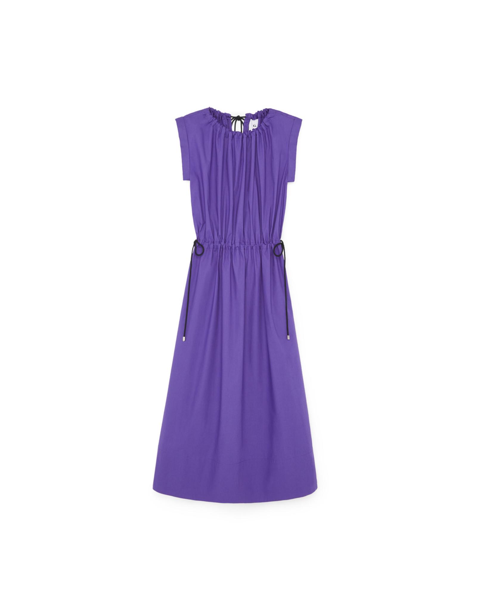 G. Label G. Label Kaci Drawstring Shirtdress (Size: 12, Color: Purple)