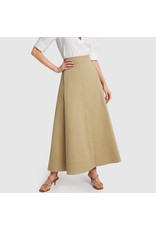 G. Label G. Label Diandra Maxi Skirt (Size: 4, Color: Khaki)