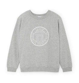 G. Label G. Label goop University Sweatshirt (Color: Grey Heather, Size: XS)